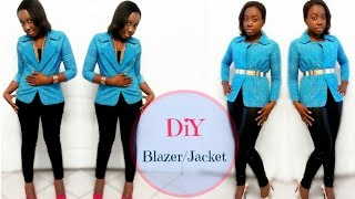 How to make a Blazer/Jacket (for beginners)