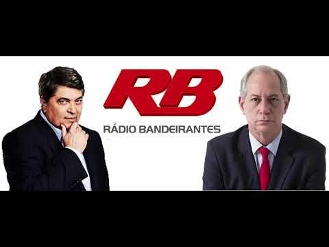 Ciro Gomes no programa '90 minutos' com Datena na Rádio Bandeirantes (01/03/2018)