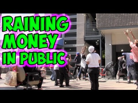 Raining Money In Public (Part 1)