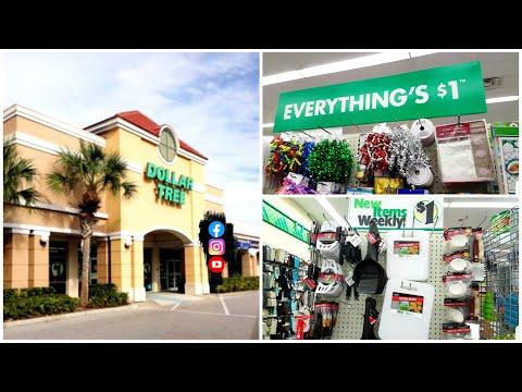 HUGE DOLLAR TREE! SHOPPING In The Dollar Store Florida
