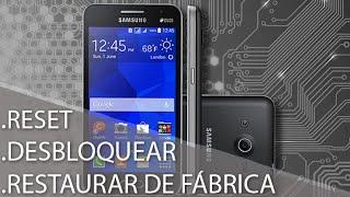 Como Formatar Samsung Galaxy Core 2 Duos SM-G355    Hard Reset, Desbloquear. G-Tech