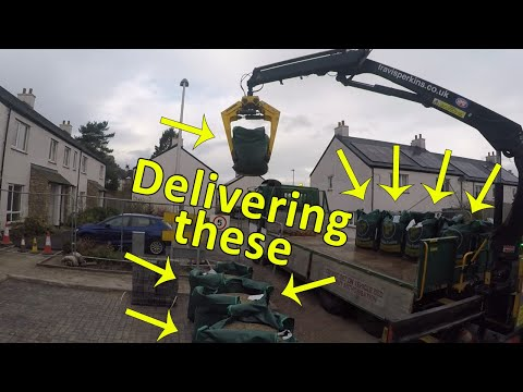 Delivering bulk bags to a site  - Except for Access