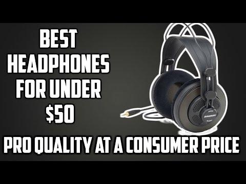 Best Headphones Under $50 2016 | SAMSON SR850 | WAR ZONE TECH REVIEWS