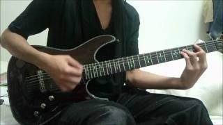 バックホーンの世界樹の下でをギターで弾いてみました 荒い演奏ですがよ...