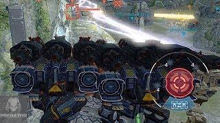 MRK II FURY ZEUS GAMEPLAY | 3 FURY ZEUS DESTROYING | War Robots