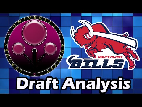 Universal Analyst League Announcement and Draft Analysis for the Bouffalant Bills!