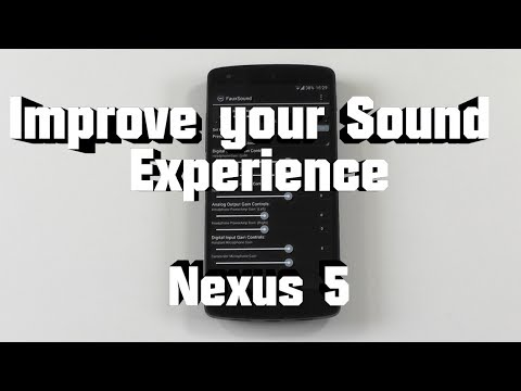 Improve Your Sound Experience - Nexus 5