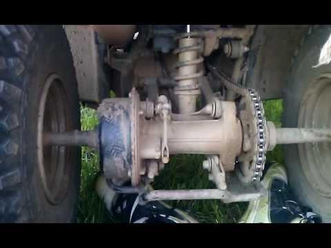 1997 polaris trailblazer 250 chain adjustment | How to
