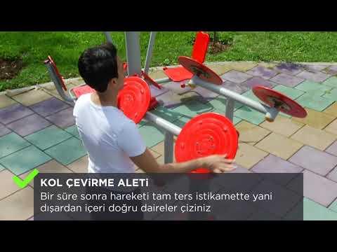 Sokak Egzersizleri | Kol Çevirme Aleti