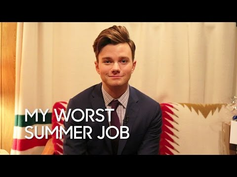 My Worst Summer Job: Chris Colfer