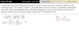 Zadanie 28 - Matura próbna 05.03.2013 [Echo Dnia]