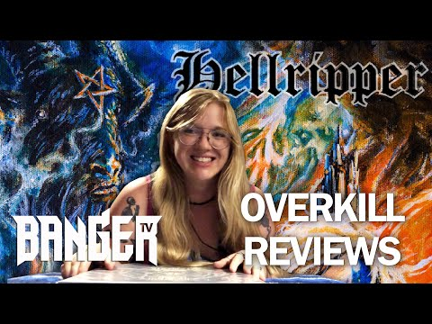 HELLRIPPER The Affair of the Poisons Album Review | Overkill Reviews