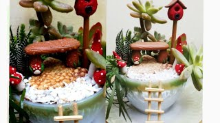 dear subscriber i hope you like my fairy garden ideas i started new...