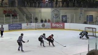 GOJHL - Listowel Cyclones vs Caledonia Corvairs - Game 1