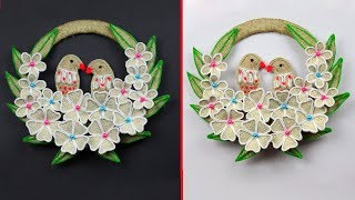 DIY Jute birds wall showpiece | Wall decor showpiece making using jute rope | Jute Craft Idea