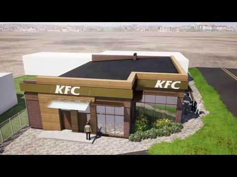 ПРОЕКТ КАФЕ KFC Russia В Усть-Джегуте респ. Карачаево Черкессия