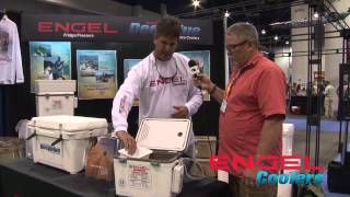 Icast 2013- The Engel Cooler, Bait Tank, Drybox!
