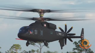 Cамый быстрый вертолет в мире против конвертоплана