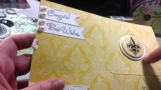 A Bridal Shower Gift Card Holder