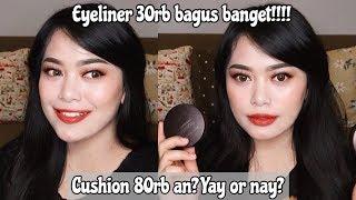 GILA MAKEUP LOKAL UDAH MURAH BAGUS LAGI   Esenses One Brand Makeup Tutorial ...