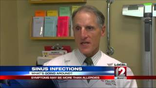 Sinus Infections: Symptoms may be more than just allergies