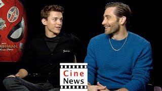 Spider-Man: Far From Home – Interview: Tom Holland & Jake Gyllenhaal