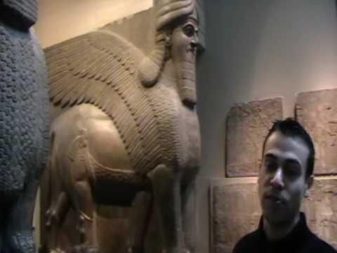 jailsonlondon BRITISH MUSEM BY FELIPE AND JAILSON -----(esculturas dos tempos asirios) QUERUBINS.MOD