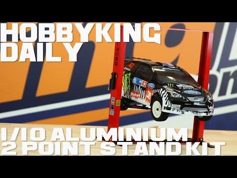 1 / 10 Aluminium 2 Point Stand Kit - HobbyKing Daily