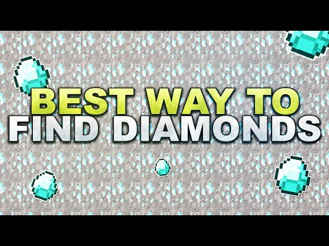 Minecraft - Best Way To Find Diamonds // Schnell Diamanten Finden - Tutorial 1.15