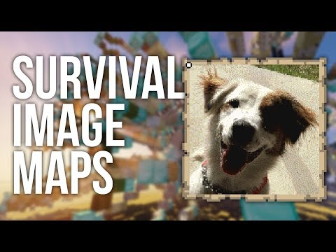 How To Make Map Pictures In Survival Minecraft