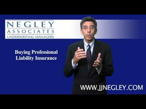 Buying Professional Liability Insurance