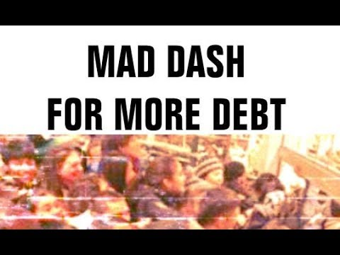 Black Friday Dash For Debt, Consumerism Madness, Personal Loans Jump, Wealth Gap Extended