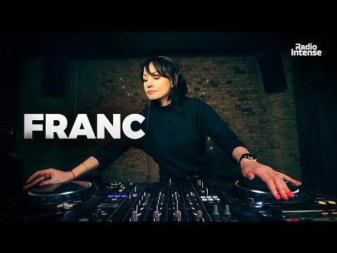 Franc - Live @ Radio Intense Kyiv 11.02.2020 // Melodic Techno Mix