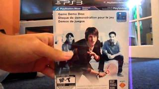 Playstation Move Starter Bundle Unboxing Video - HD 720p -