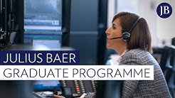 Julius Baer's Graduate Programme: Designed to prepare you for a career in the financial industry
