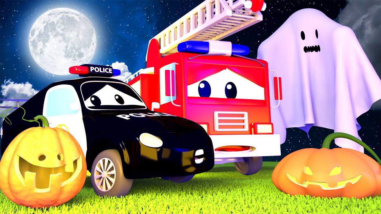 Halloween ! La Super Patrouille - Le Fantôme effraie les bébés - Dessin animé Halloween !