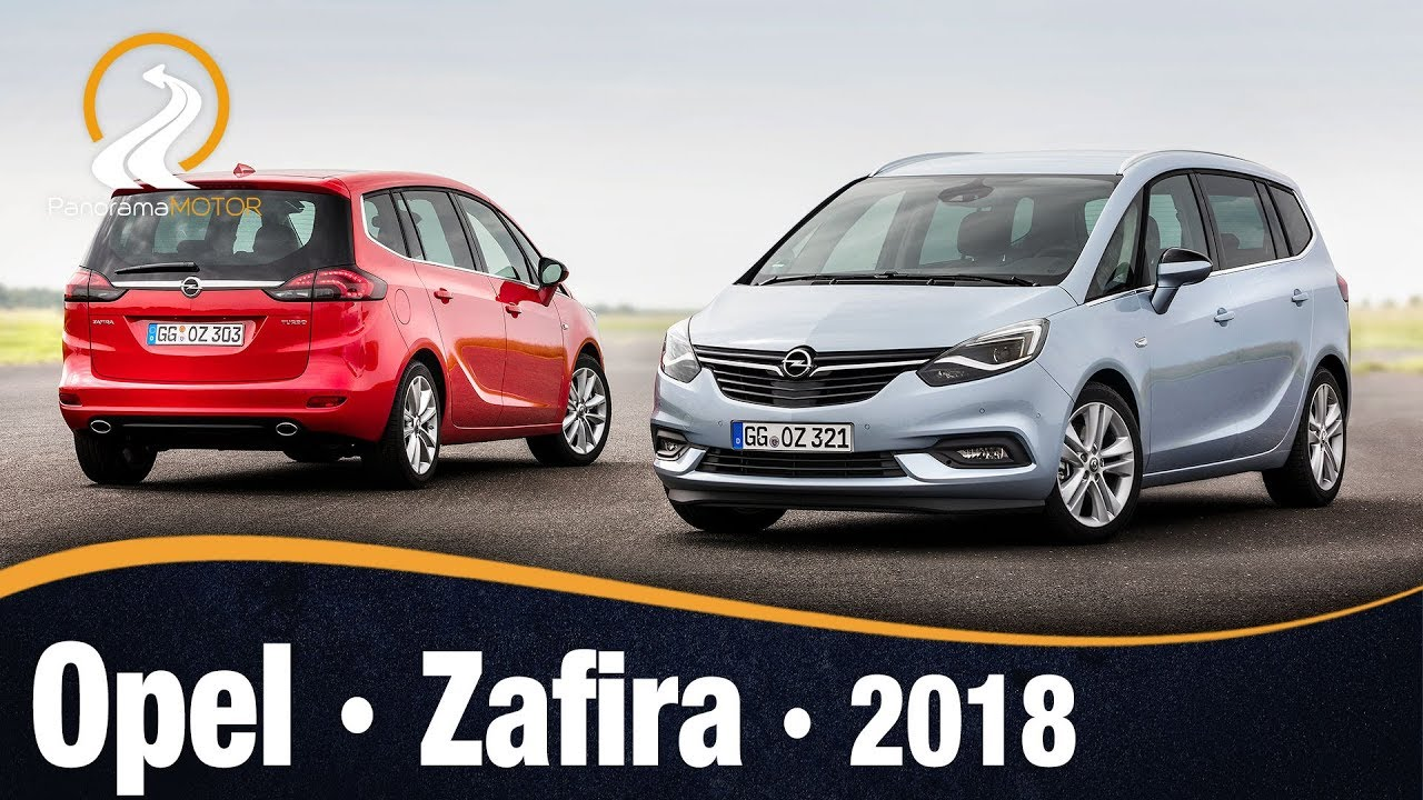 opel zafira 2018 video e informaci n review en espa ol. Black Bedroom Furniture Sets. Home Design Ideas