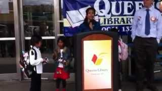 Queens Mom: ''I'm So Grateful to Have a Library in My Community''