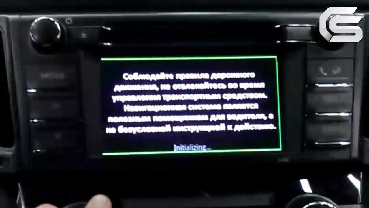 toyota rav 4 установка навигации