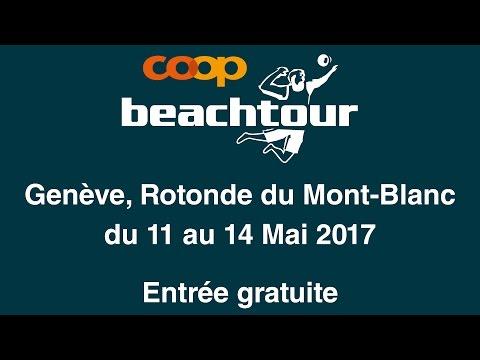 avant-première de la Coop Beachtour Genève 2017