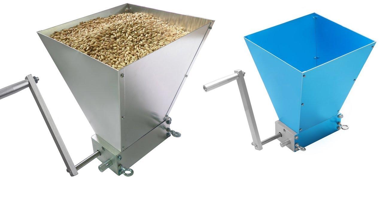 2 Roller Best Barley Malt Grainder Best grain Mill Videos