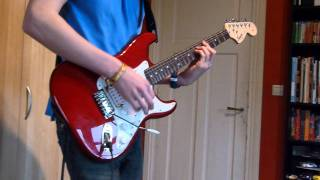 The Happiest Days Of Our Life / Another Brick In The Wall - Pink Floyd (Electric Guitar cover)