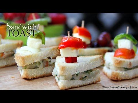 Veg Sandwich Recipe | Easy Healthy Breakfast Recipe By Shilpi