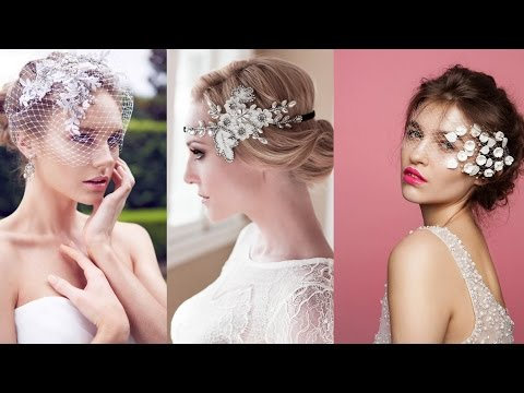 Bridal Hairstyles With Veils and Hairpieces