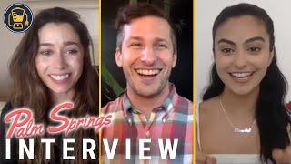 Hulu's Palm Springs Interviews | Andy Samberg, Cristin Milioti, Camila Mendes And More
