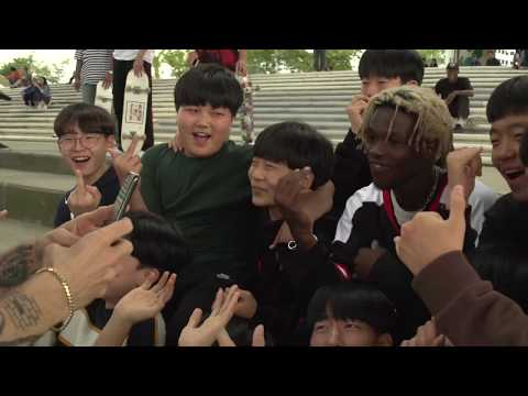 Watch Babylon LA Shred Korea During Collaborative GUESS Pop-Up