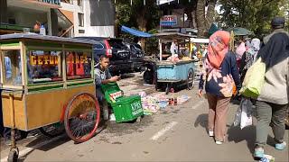 Suasana Di Car Free Day (cfd) Buah Batu, Bandung, Indonesia | Aku #1