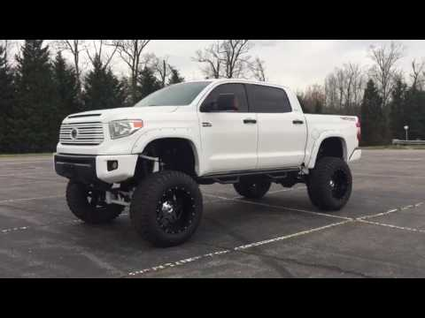 "2014 Toyota Tundra lifted 13"" on 40's bulletproof lift ..."