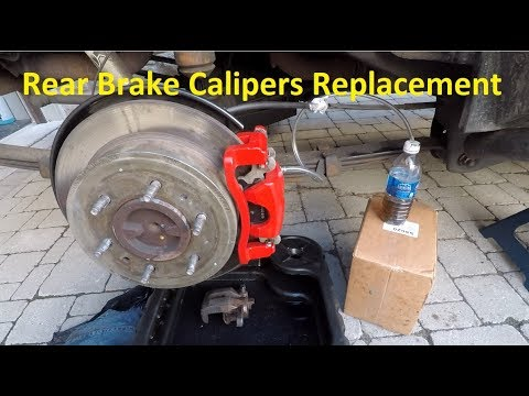 How To Replace Rear Brake Caliper on Hummer H3, GMC Canyon and Chevrolet Colorado