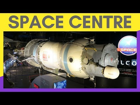NATIONAL SPACE CENTRE | 5 DAYS OF SUMMER FUN #2